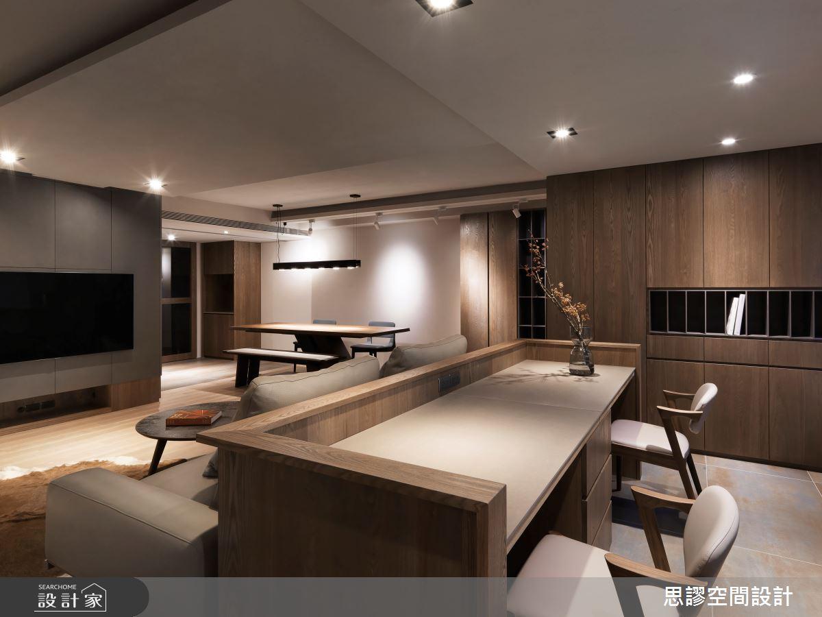 35坪新成屋(5年以下)_簡約風客廳書房案例圖片_思謬空間設計有限公司_思謬_10之8
