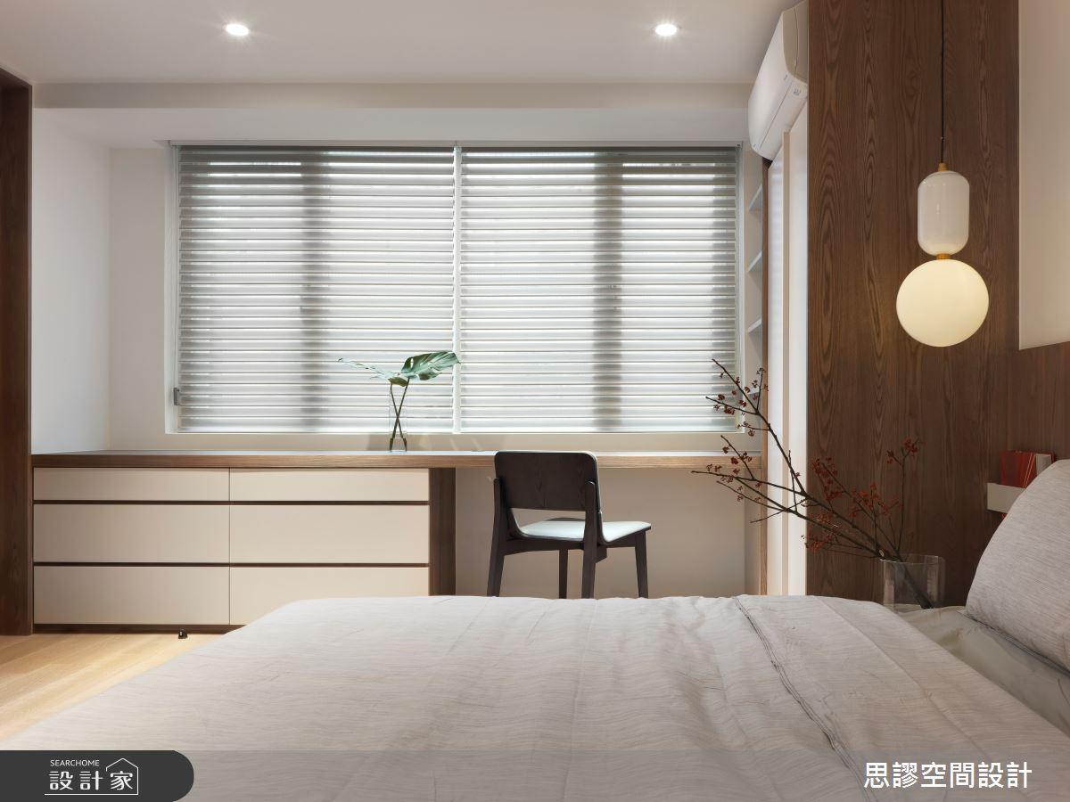 35坪新成屋(5年以下)_簡約風臥室案例圖片_思謬空間設計有限公司_思謬_10之13