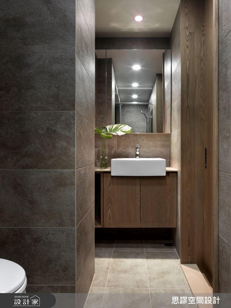 35坪新成屋(5年以下)_簡約風浴室案例圖片_思謬空間設計有限公司_思謬_10之16
