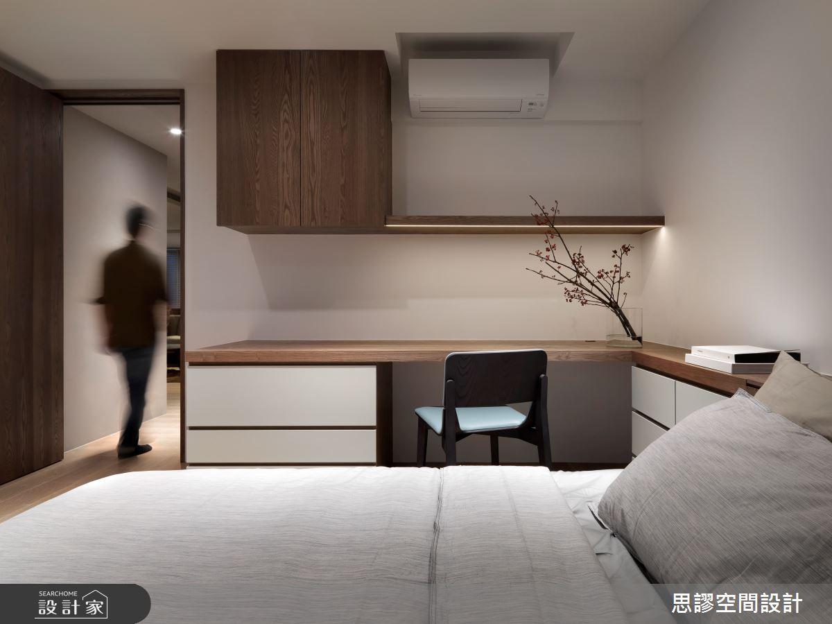 35坪新成屋(5年以下)_簡約風臥室案例圖片_思謬空間設計有限公司_思謬_10之14