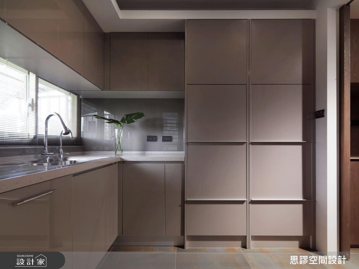 35坪新成屋(5年以下)_簡約風廚房案例圖片_思謬空間設計有限公司_思謬_10之11