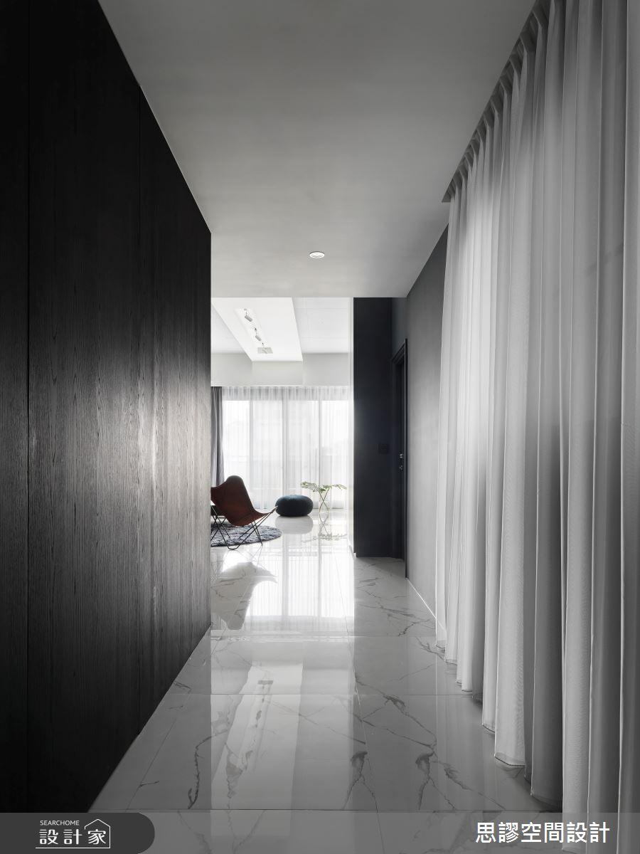 45坪新成屋(5年以下)_簡約風走廊案例圖片_思謬空間設計有限公司_思謬_12之1