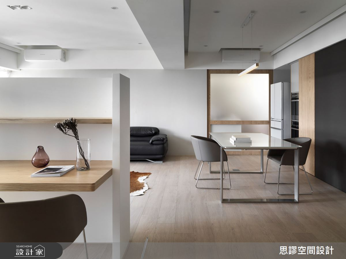 28坪新成屋(5年以下)_簡約風餐廳書房案例圖片_思謬空間設計有限公司_思謬_13之5