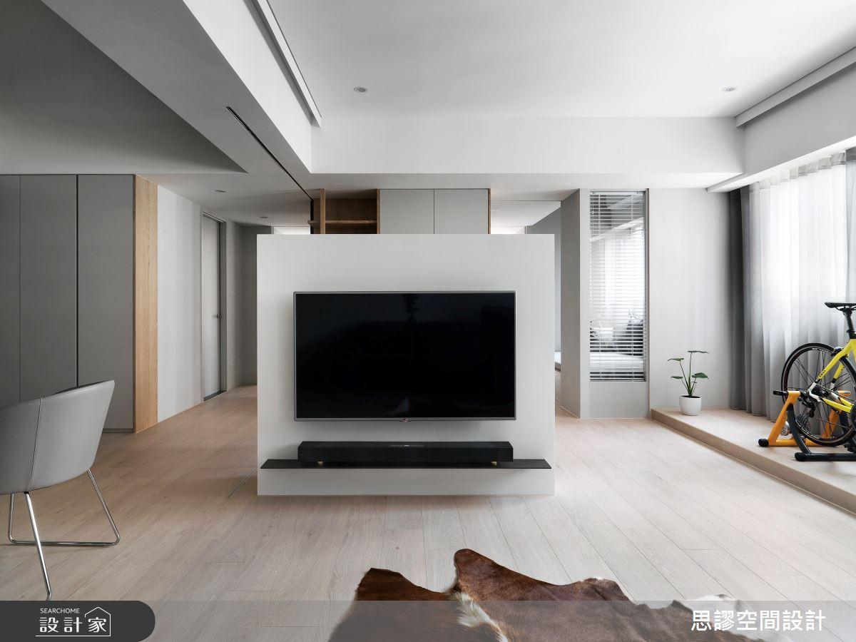 28坪新成屋(5年以下)_簡約風客廳案例圖片_思謬空間設計有限公司_思謬_13之3