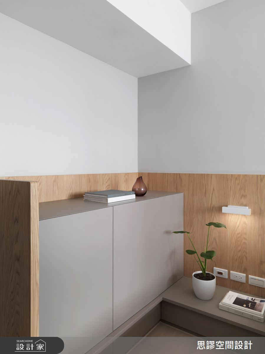 28坪新成屋(5年以下)_簡約風臥室案例圖片_思謬空間設計有限公司_思謬_13之11