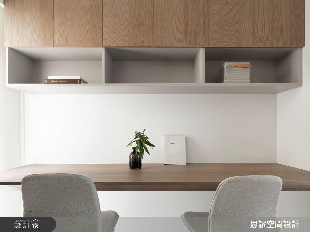 32坪新成屋(5年以下)_簡約風書房案例圖片_思謬空間設計有限公司_思謬_15之11