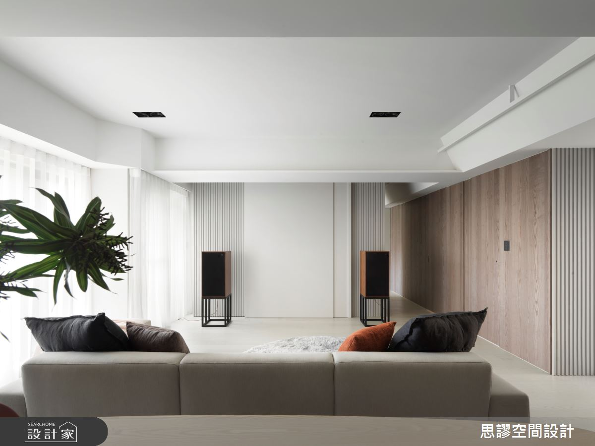 32坪新成屋(5年以下)_簡約風客廳案例圖片_思謬空間設計有限公司_思謬_15之2