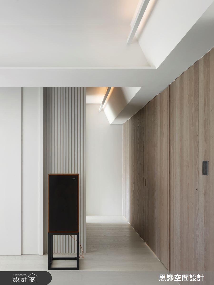 32坪新成屋(5年以下)_簡約風走廊案例圖片_思謬空間設計有限公司_思謬_15之3
