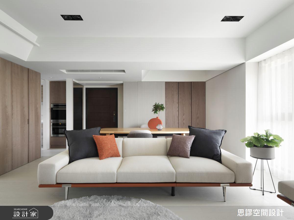 32坪新成屋(5年以下)_簡約風客廳案例圖片_思謬空間設計有限公司_思謬_15之5