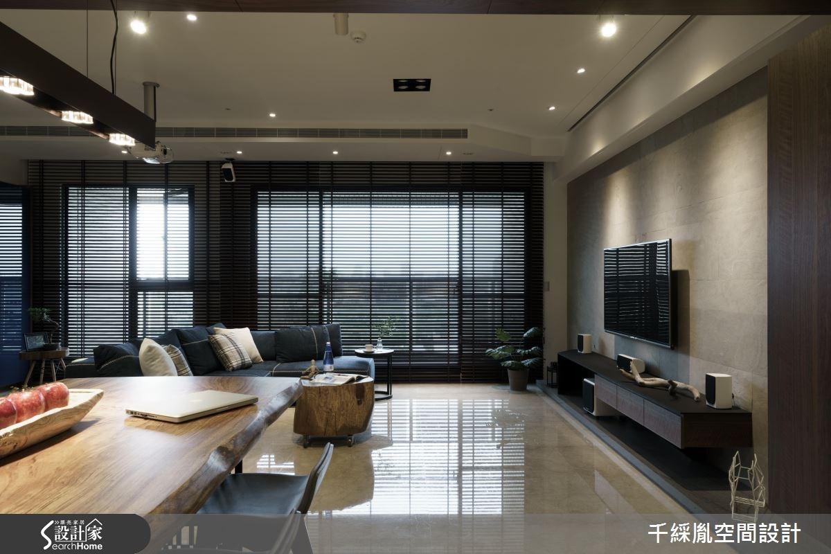 43坪新成屋(5年以下)_混搭風餐廳案例圖片_千綵胤空間設計有限公司_千綵胤_02之2