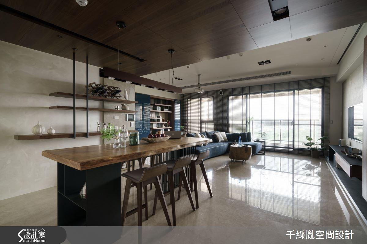 43坪新成屋(5年以下)_混搭風餐廳案例圖片_千綵胤空間設計有限公司_千綵胤_02之3