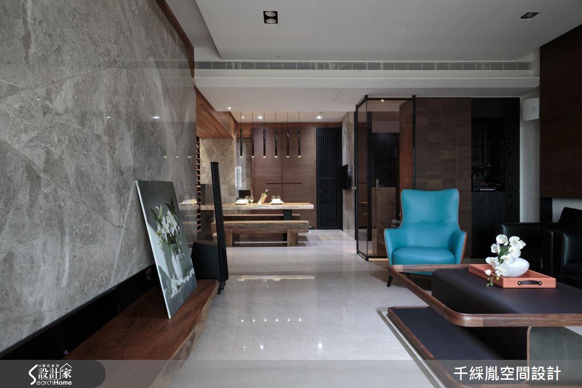 60坪新成屋(5年以下)_混搭風餐廳案例圖片_千綵胤空間設計有限公司_千綵胤_03之4
