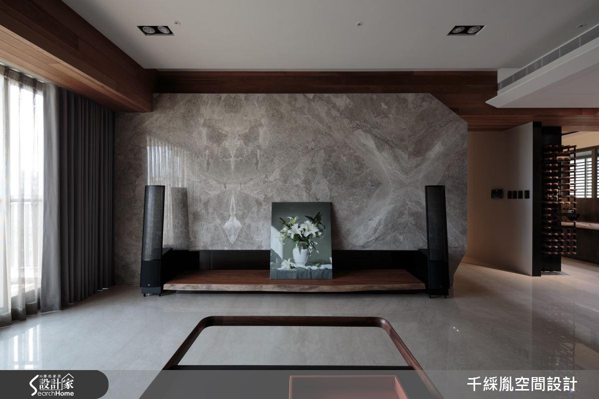 60坪新成屋(5年以下)_混搭風客廳案例圖片_千綵胤空間設計有限公司_千綵胤_03之5