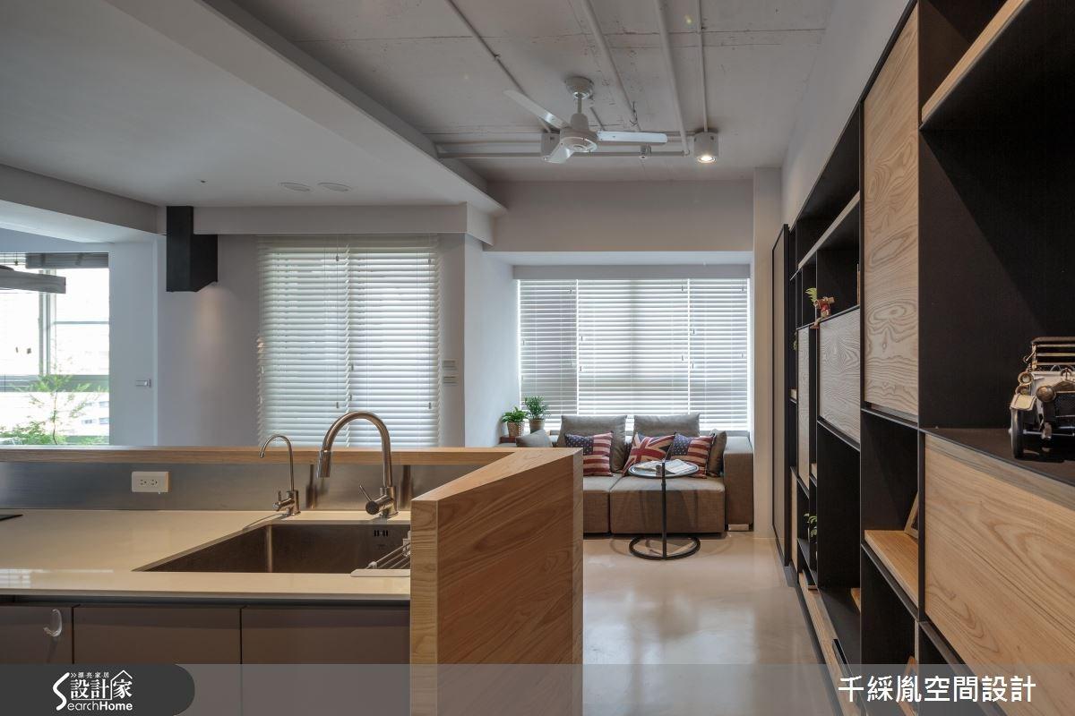 17坪中古屋(5~15年)_混搭風廚房案例圖片_千綵胤空間設計有限公司_千綵胤_05之2
