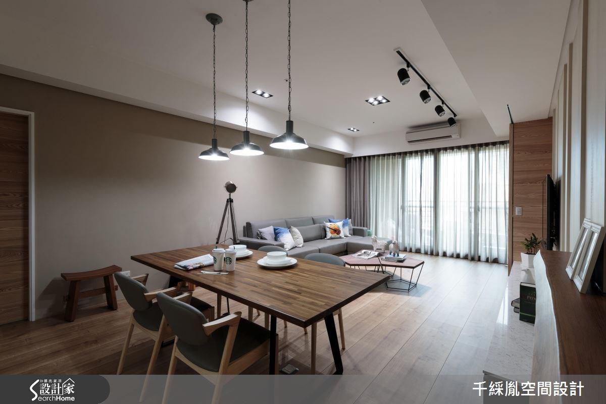 40坪中古屋(5~15年)_混搭風餐廳案例圖片_千綵胤空間設計有限公司_千綵胤_06之2