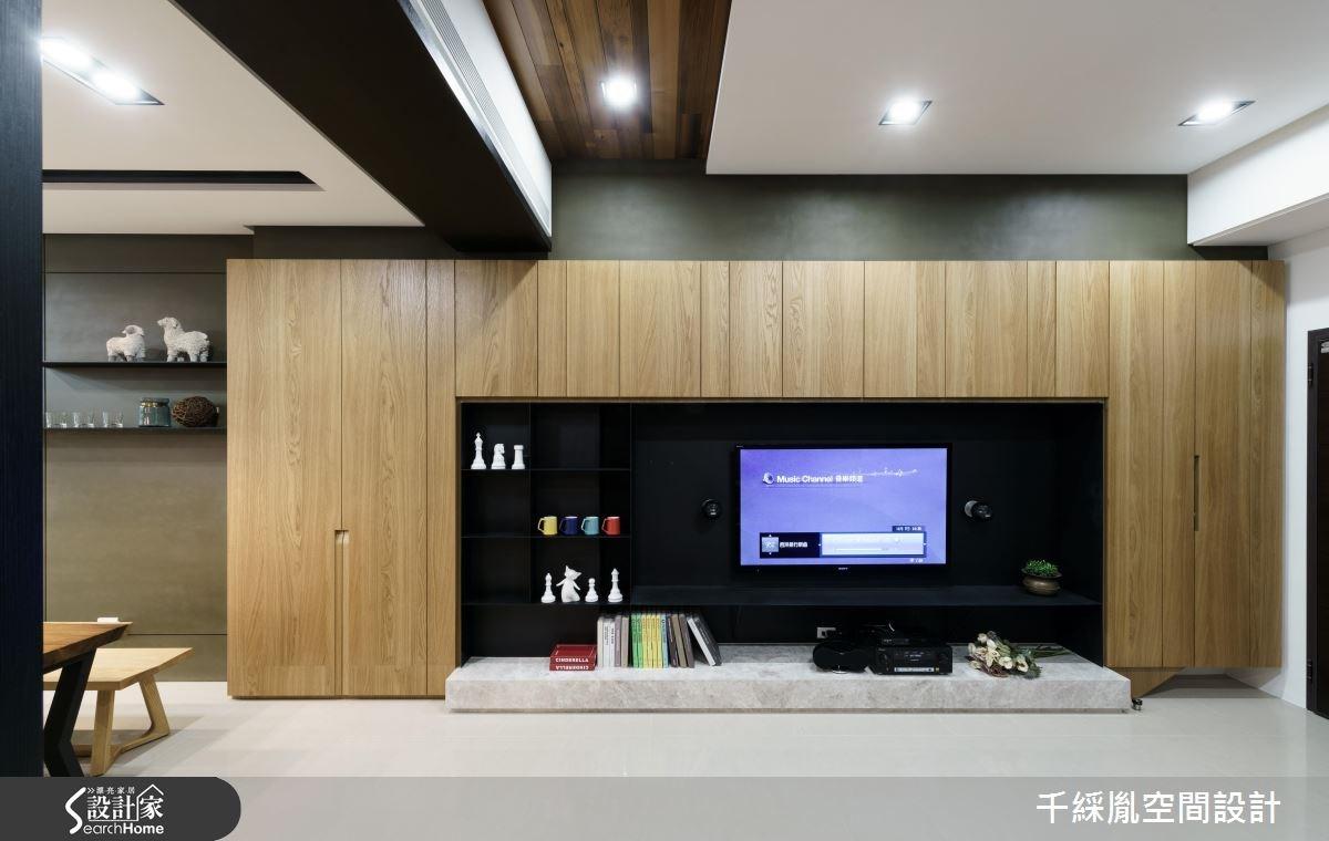 53坪新成屋(5年以下)_混搭風客廳案例圖片_千綵胤空間設計有限公司_千綵胤_07之3