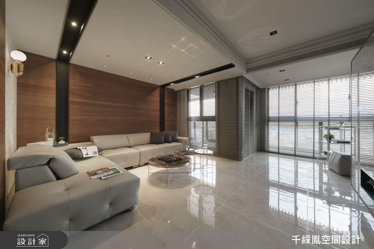 40坪新成屋(5年以下)_現代風客廳案例圖片_千綵胤空間設計有限公司_千綵胤_09之1