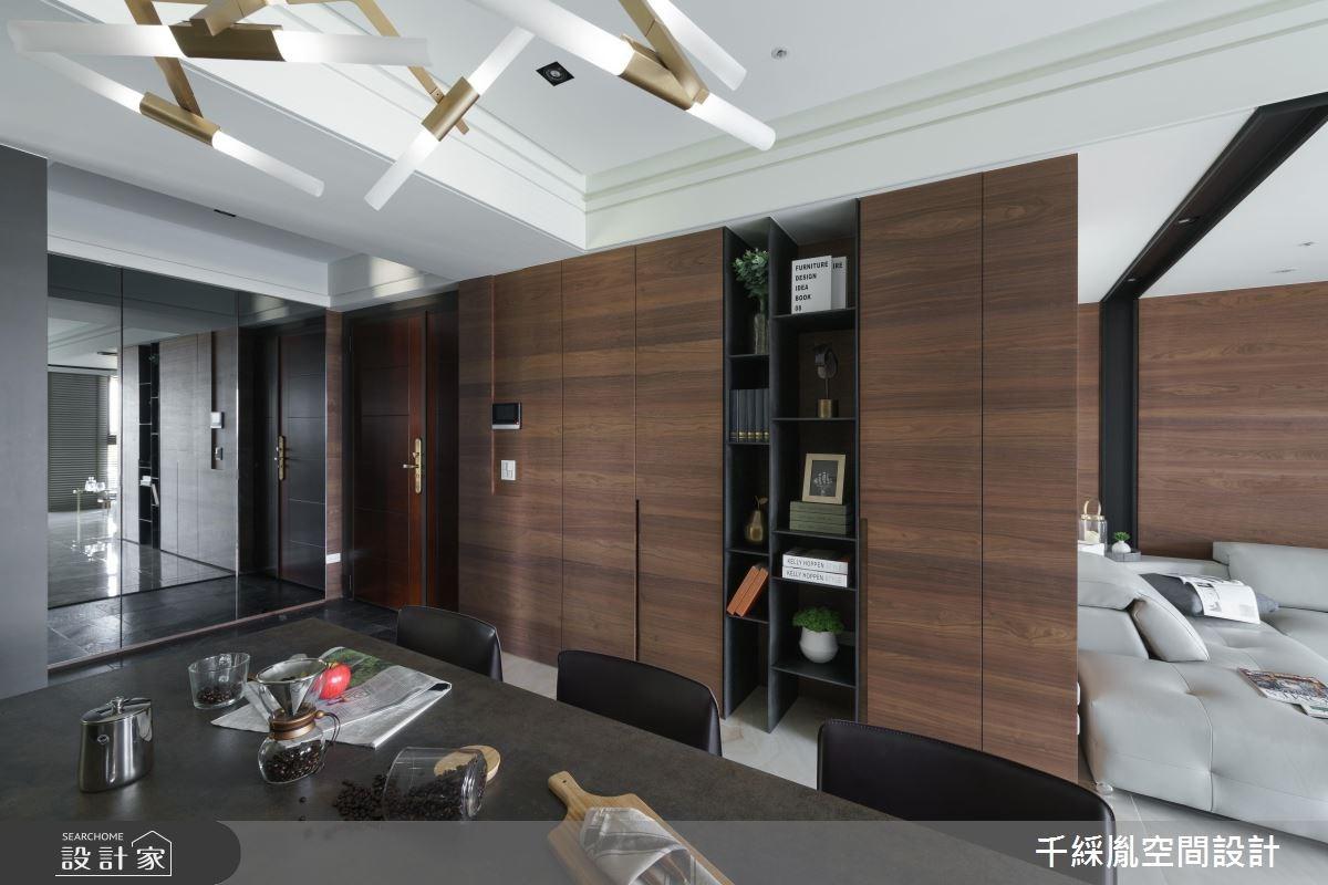 40坪新成屋(5年以下)_現代風餐廳案例圖片_千綵胤空間設計有限公司_千綵胤_09之4