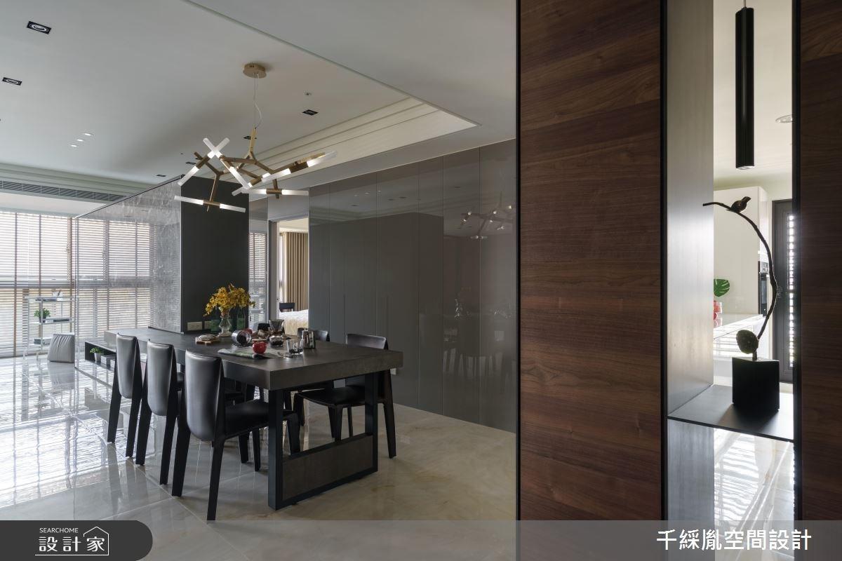 40坪新成屋(5年以下)_現代風餐廳案例圖片_千綵胤空間設計有限公司_千綵胤_09之5