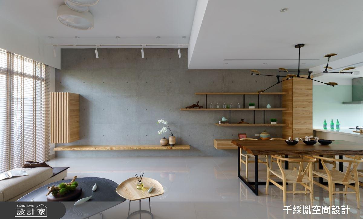 85坪新成屋(5年以下)_混搭風餐廳案例圖片_千綵胤空間設計有限公司_千綵胤_14之2