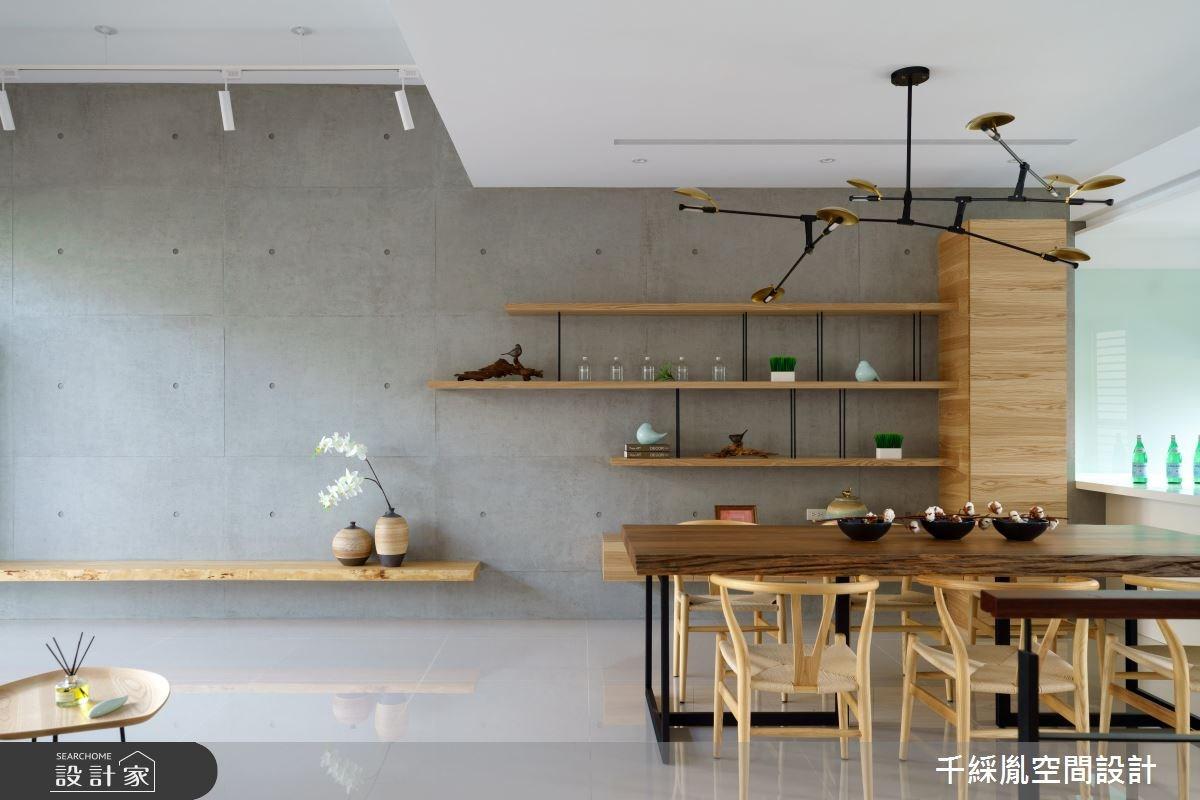 85坪新成屋(5年以下)_混搭風餐廳案例圖片_千綵胤空間設計有限公司_千綵胤_14之3