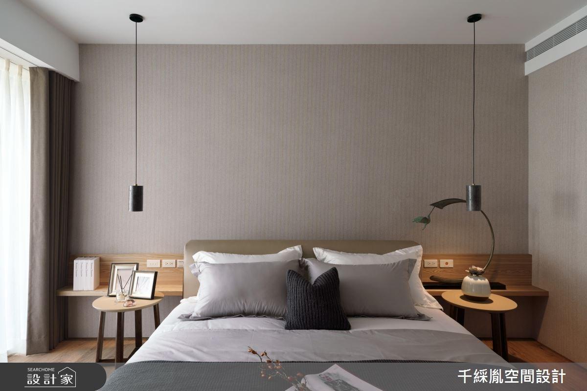 85坪新成屋(5年以下)_混搭風臥室案例圖片_千綵胤空間設計有限公司_千綵胤_14之11
