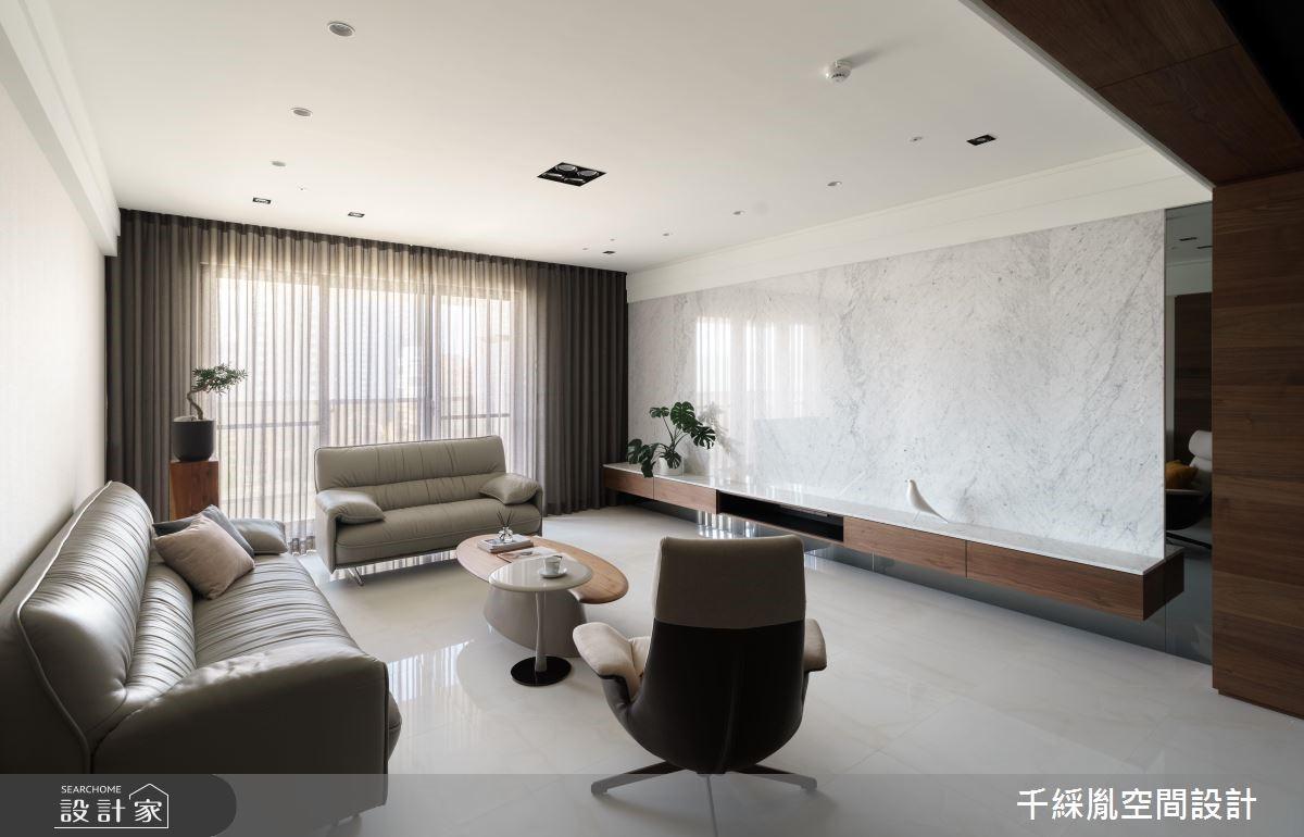60坪新成屋(5年以下)_現代風客廳案例圖片_千綵胤空間設計有限公司_千綵胤_15之3