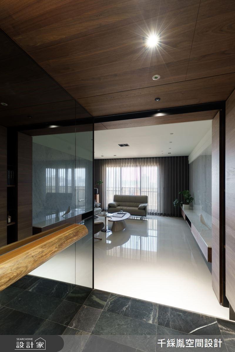 60坪新成屋(5年以下)_現代風玄關案例圖片_千綵胤空間設計有限公司_千綵胤_15之1