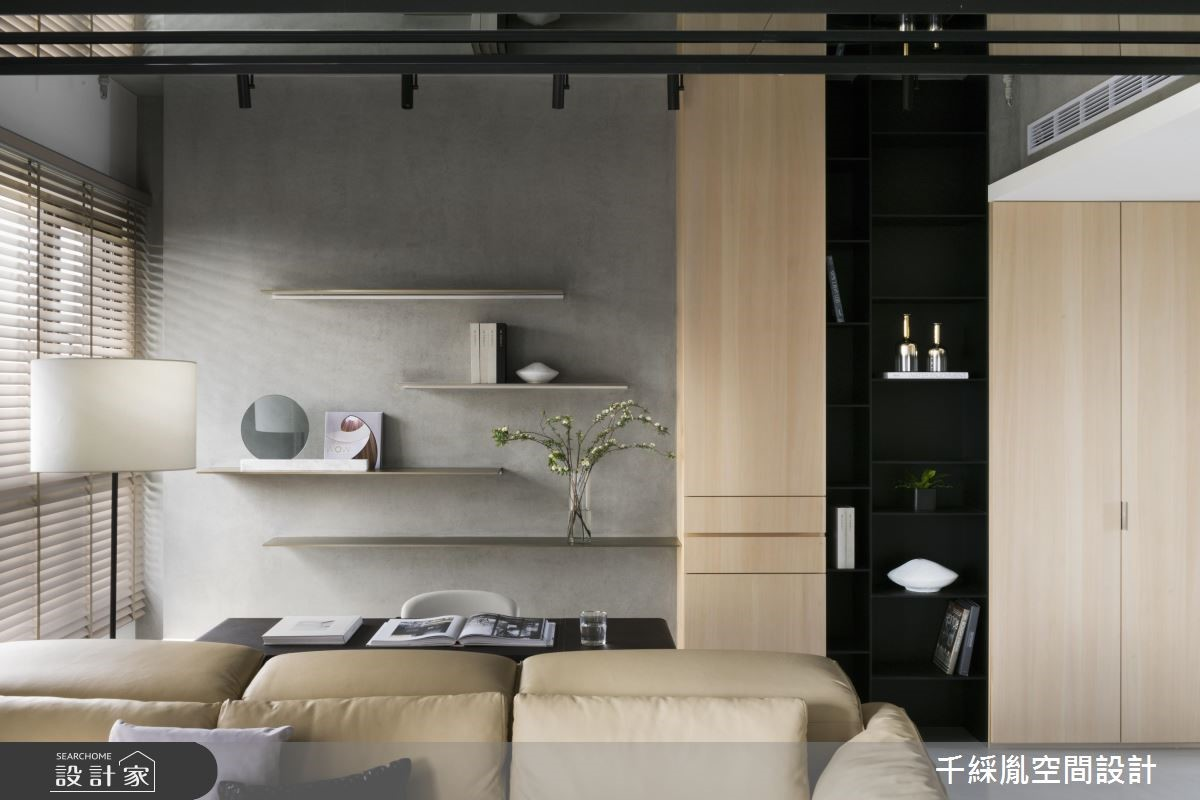 35坪新成屋(5年以下)_現代風工作區案例圖片_千綵胤空間設計有限公司_千綵胤_16之4