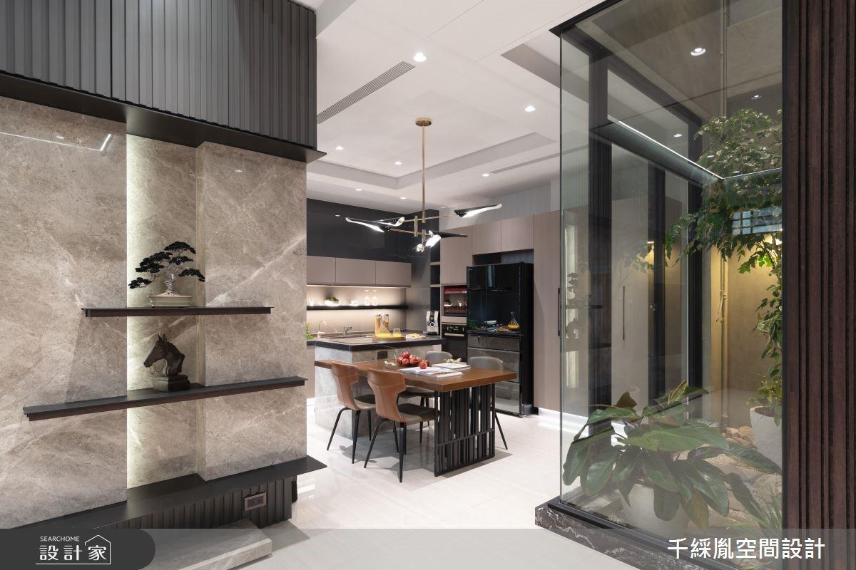 52坪新成屋(5年以下)_現代風餐廳案例圖片_千綵胤空間設計有限公司_千綵胤_17之1