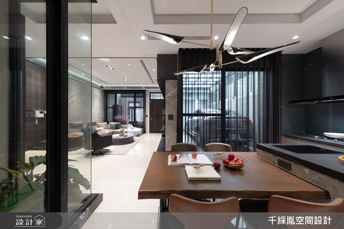 52坪新成屋(5年以下)_現代風餐廳案例圖片_千綵胤空間設計有限公司_千綵胤_17之3