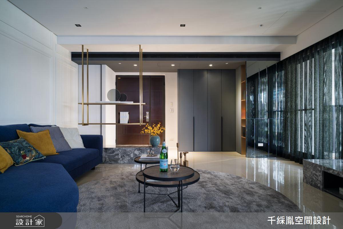 52坪新成屋(5年以下)_義式古典風客廳案例圖片_千綵胤空間設計有限公司_千綵胤_18之4