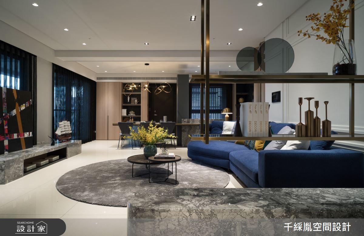 52坪新成屋(5年以下)_義式古典風客廳案例圖片_千綵胤空間設計有限公司_千綵胤_18之3