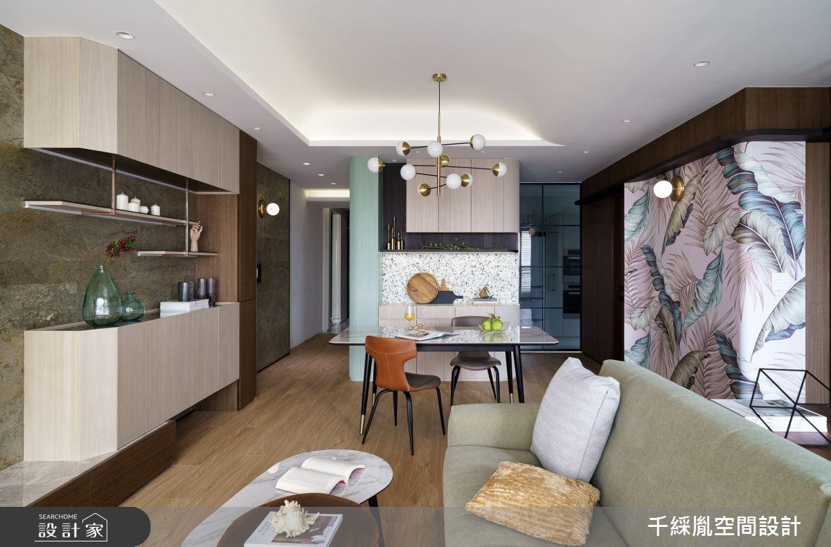22坪新成屋(5年以下)_混搭風餐廳案例圖片_千綵胤空間設計有限公司_千綵胤_23之4