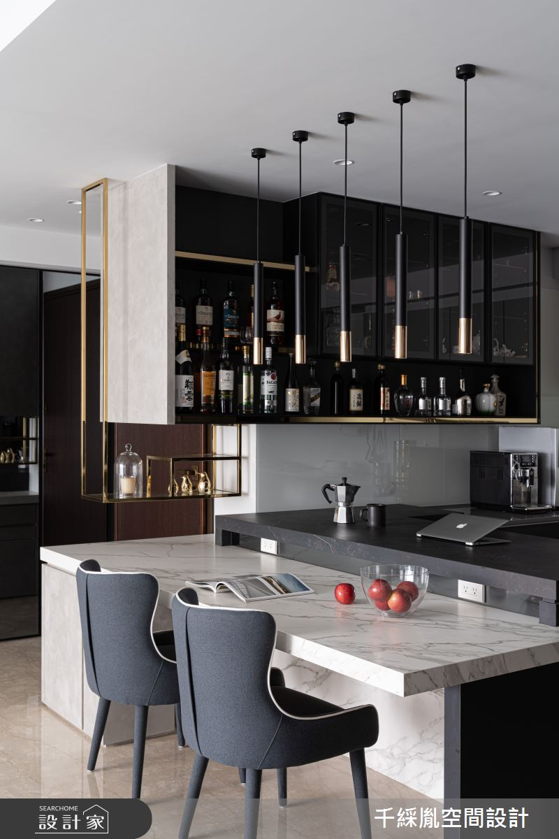 45坪新成屋(5年以下)_現代風餐廳案例圖片_千綵胤空間設計有限公司_千綵胤_27之10