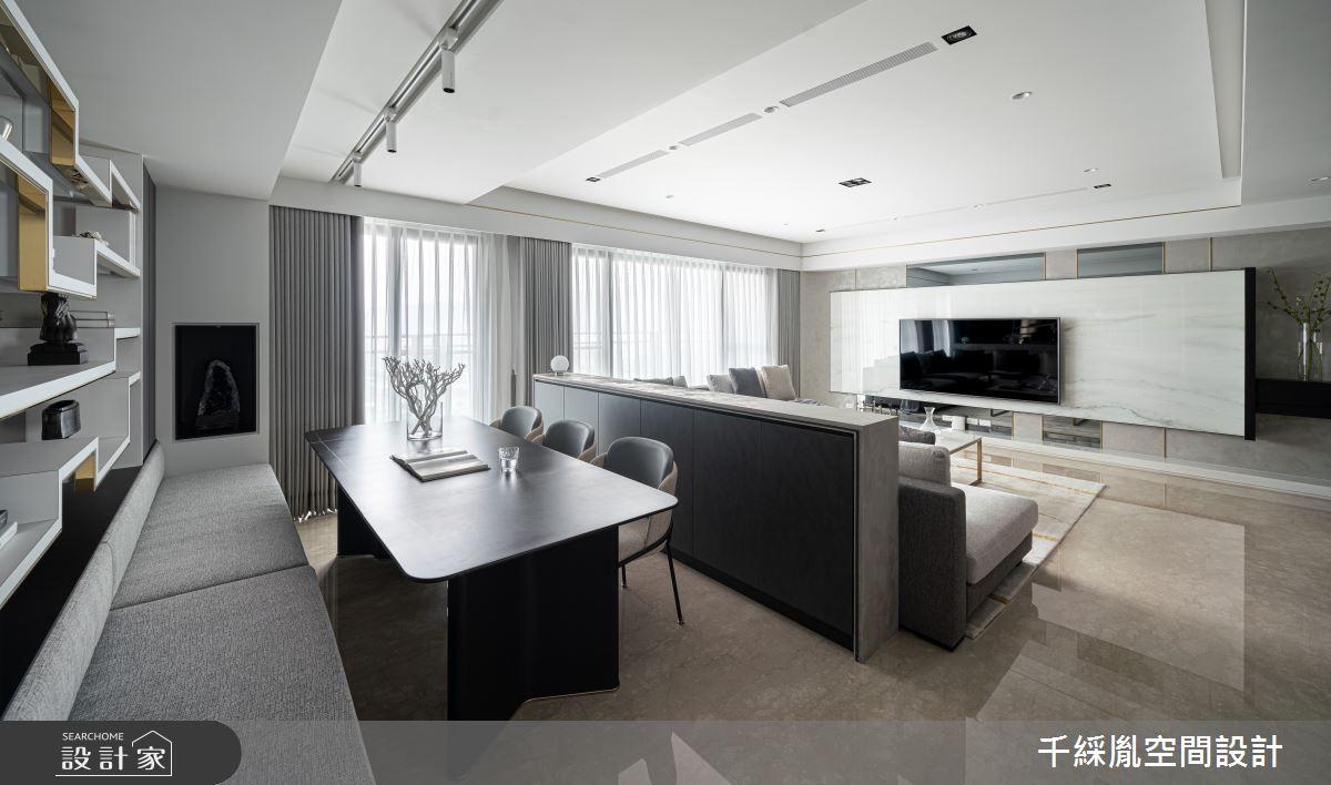 45坪新成屋(5年以下)_現代風書房案例圖片_千綵胤空間設計有限公司_千綵胤_27之11