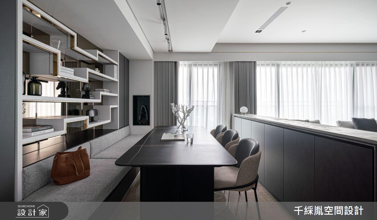 45坪新成屋(5年以下)_現代風書房案例圖片_千綵胤空間設計有限公司_千綵胤_27之12