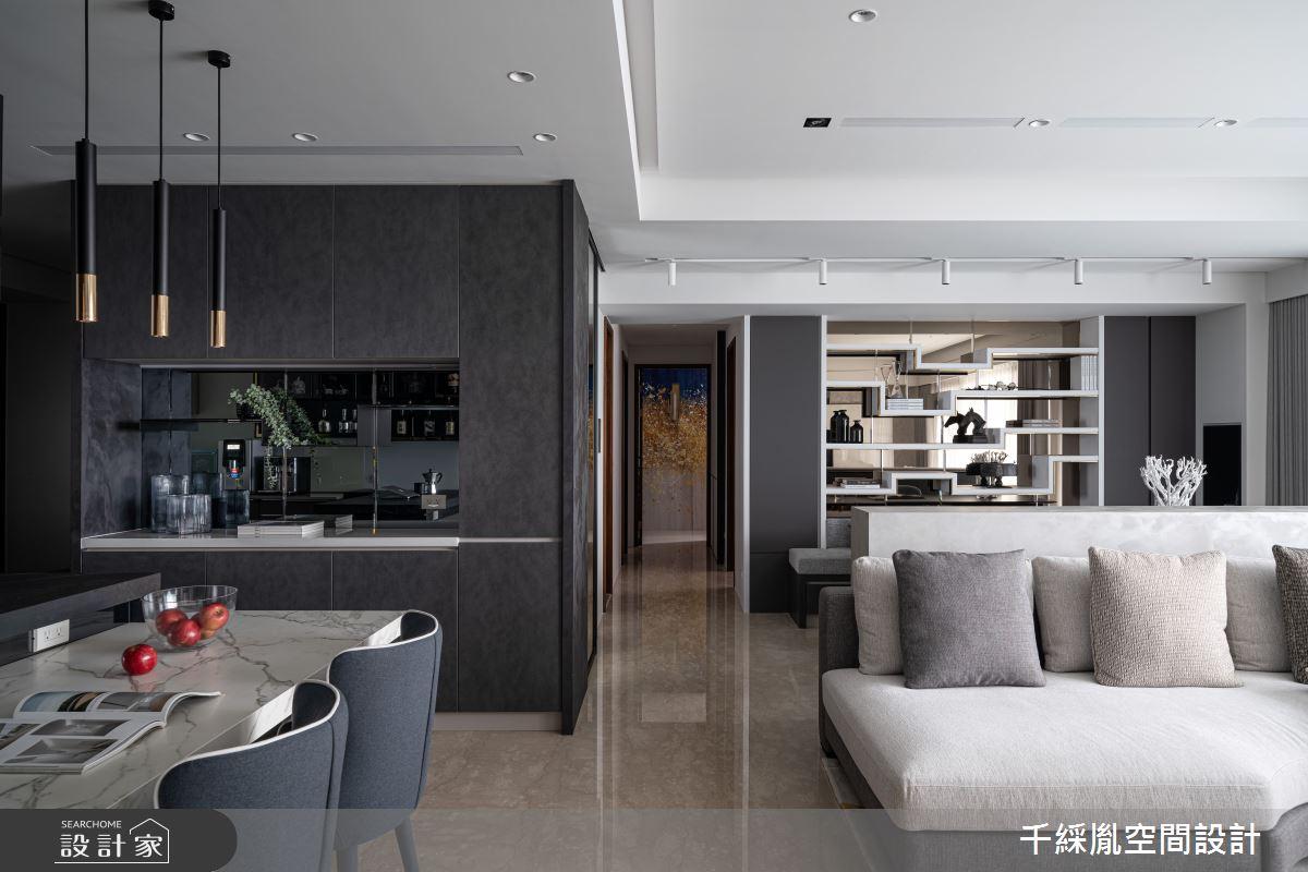 45坪新成屋(5年以下)_現代風餐廳案例圖片_千綵胤空間設計有限公司_千綵胤_27之9