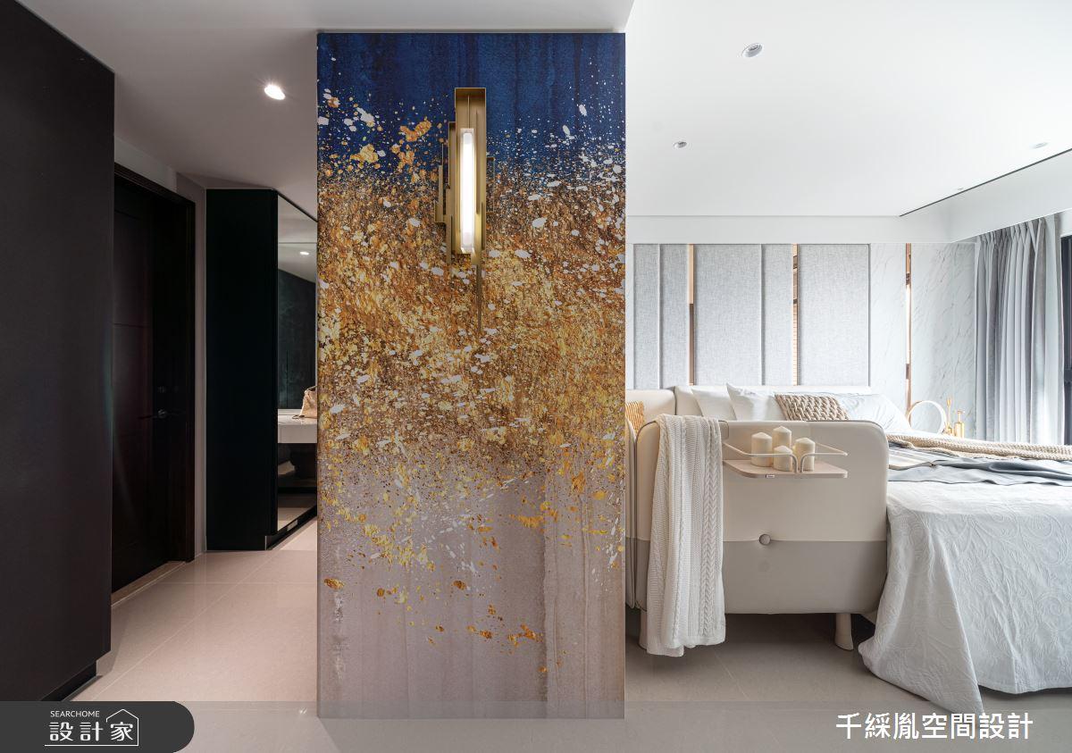 45坪新成屋(5年以下)_現代風臥室案例圖片_千綵胤空間設計有限公司_千綵胤_27之14