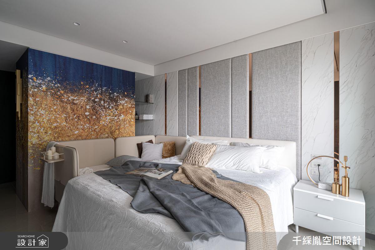45坪新成屋(5年以下)_現代風臥室案例圖片_千綵胤空間設計有限公司_千綵胤_27之15