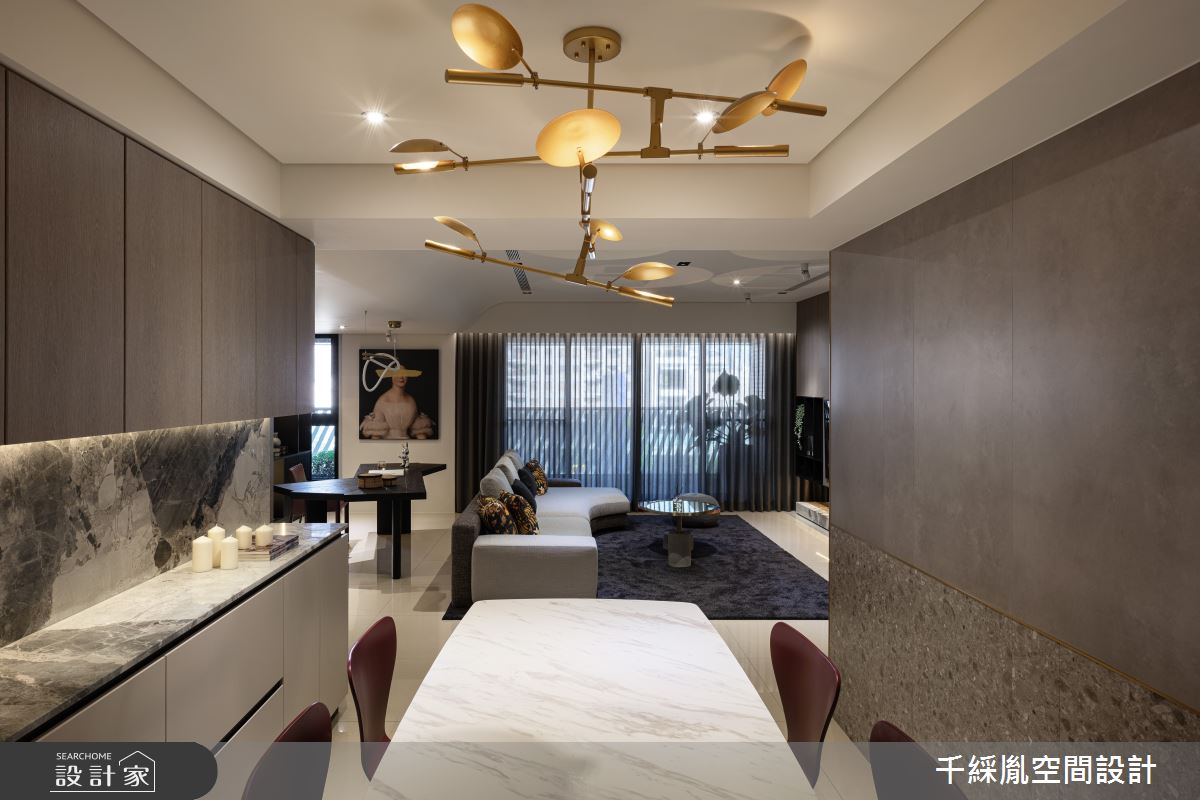 60坪新成屋(5年以下)_現代風客廳案例圖片_千綵胤空間設計有限公司_千綵胤_28之3