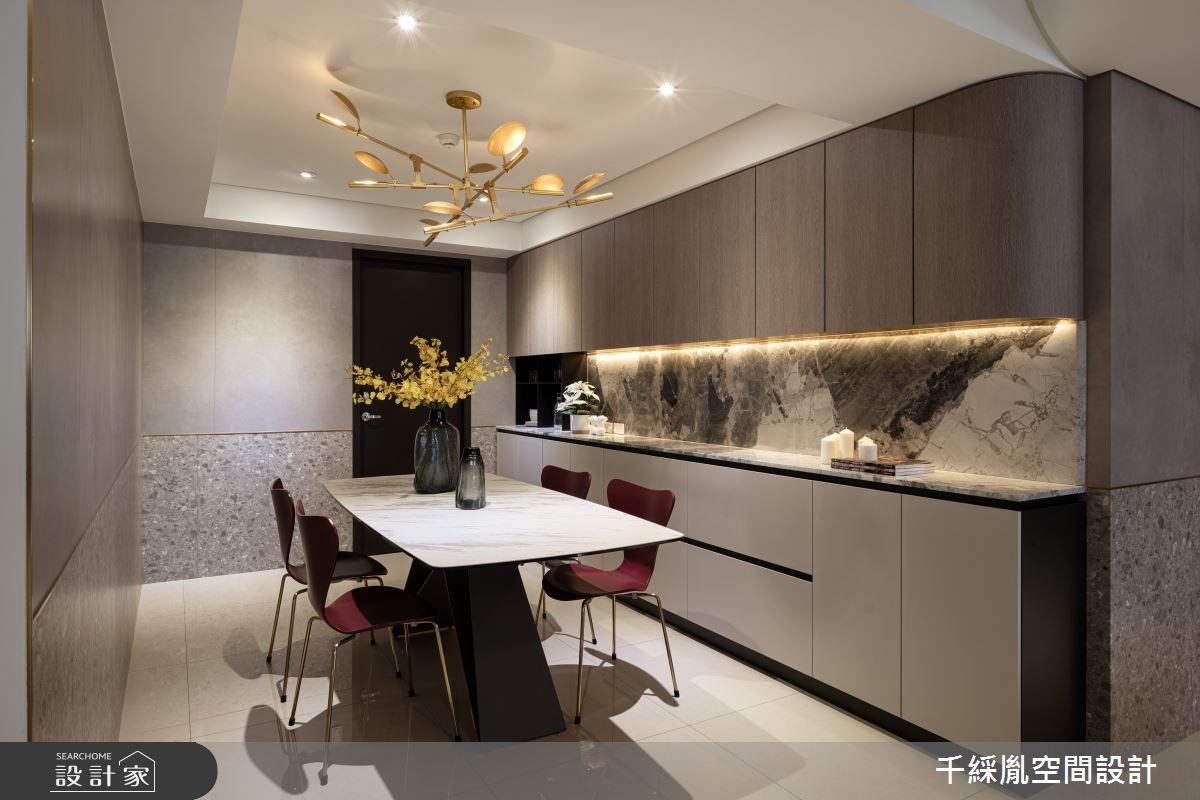 60坪新成屋(5年以下)_現代風餐廳案例圖片_千綵胤空間設計有限公司_千綵胤_28之5