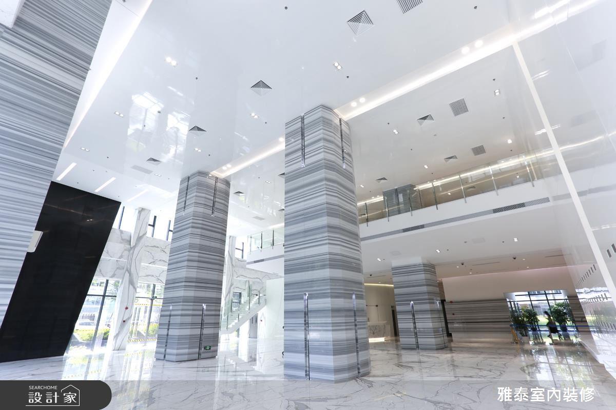 充滿未來科技感的商辦大樓!再造大器軒昂企業新形象