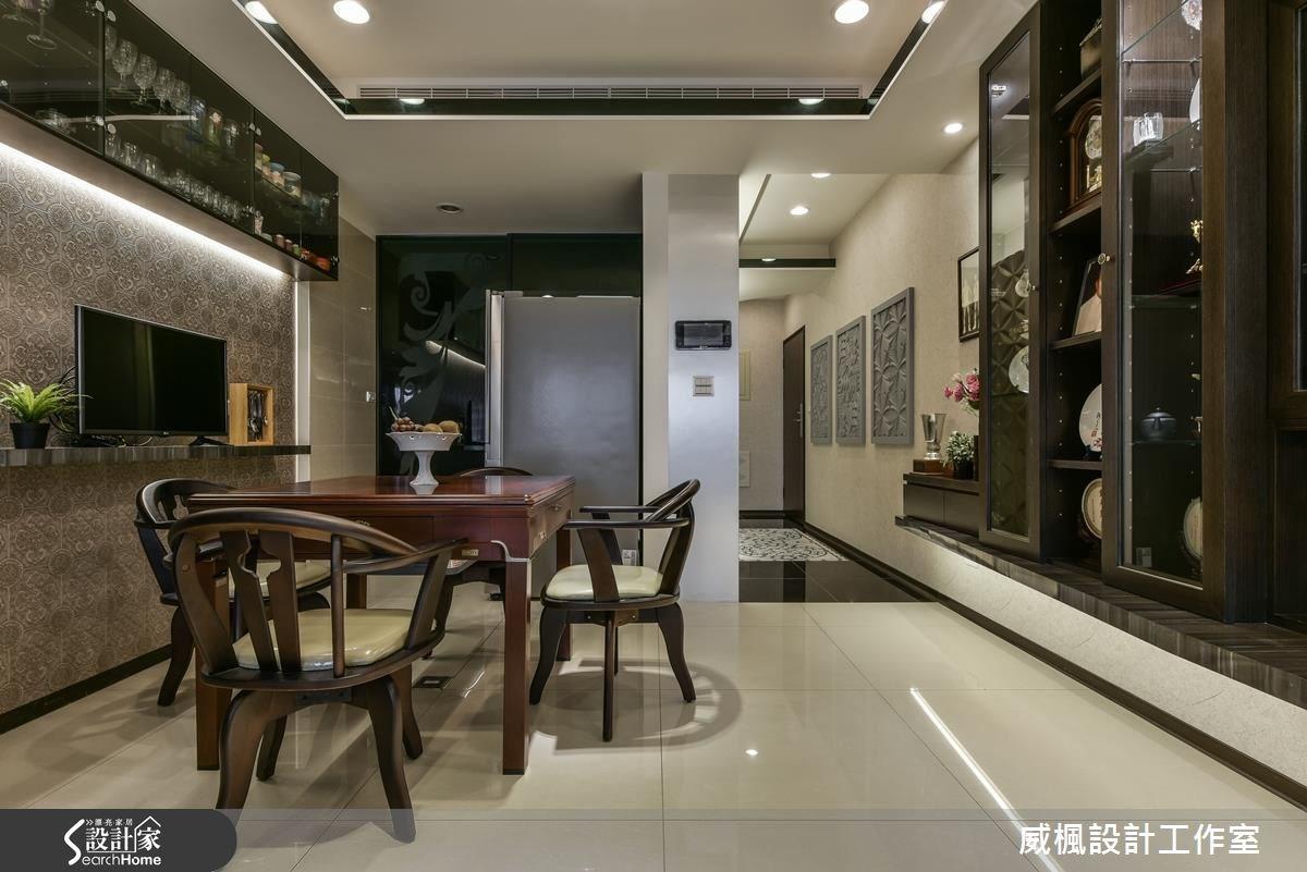 30坪新成屋(5年以下)_奢華風餐廳案例圖片_威楓設計工作室_威楓_06之3