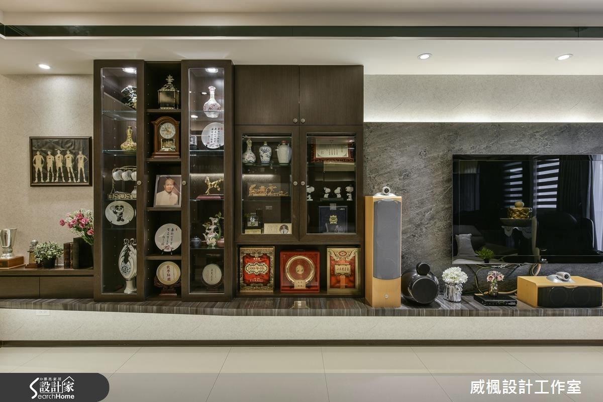 30坪新成屋(5年以下)_奢華風客廳案例圖片_威楓設計工作室_威楓_06之6