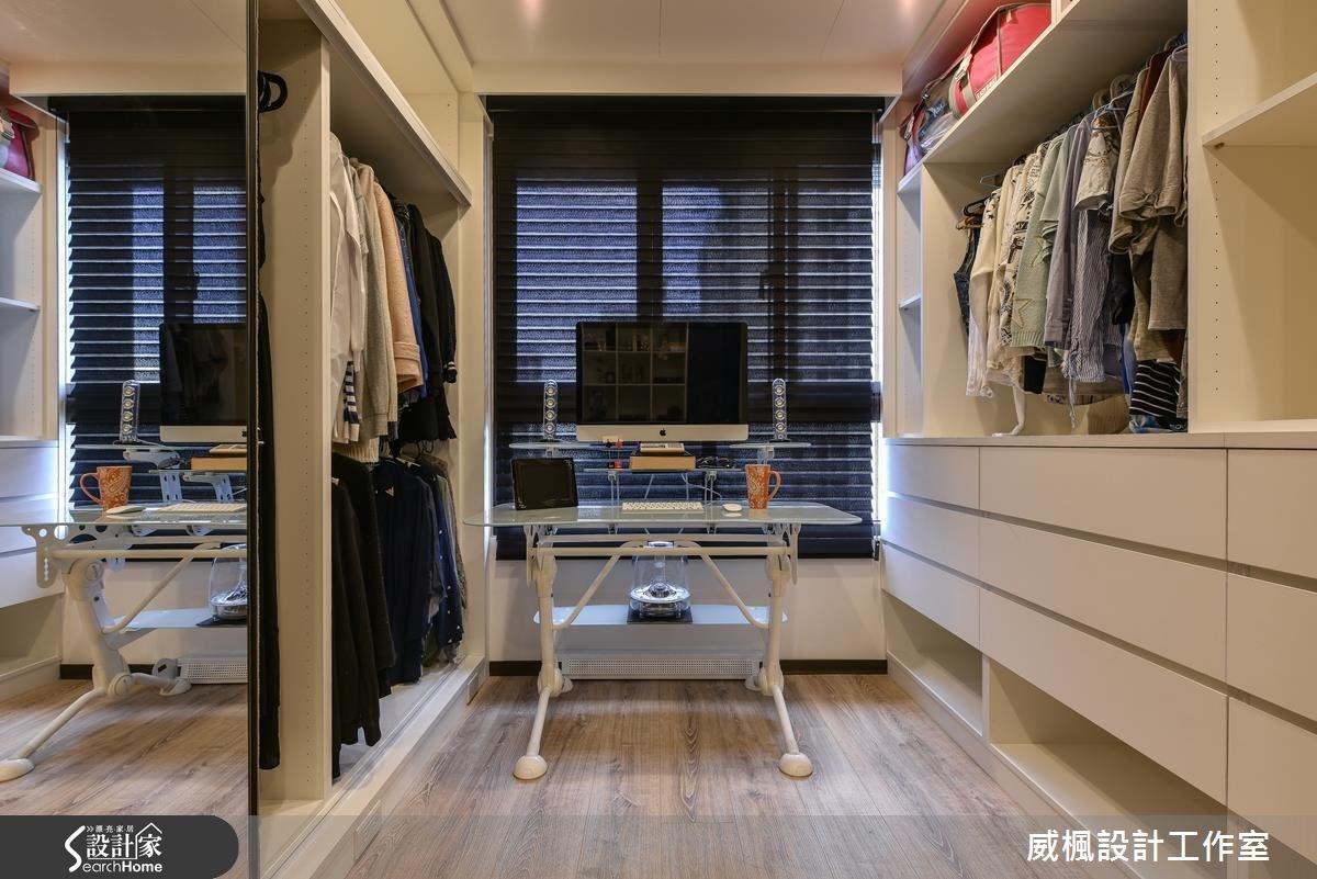 30坪新成屋(5年以下)_奢華風臥室案例圖片_威楓設計工作室_威楓_06之11