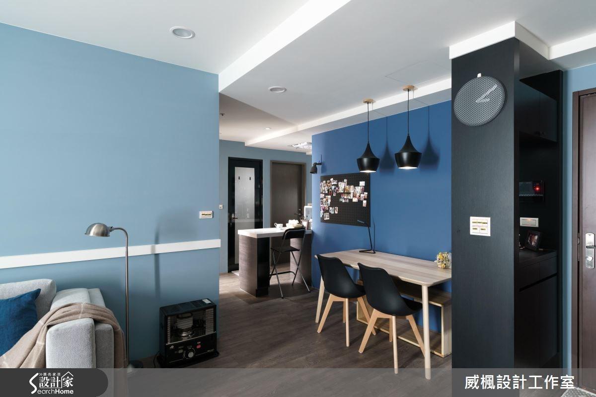 16坪新成屋(5年以下)_現代風餐廳案例圖片_威楓設計工作室_威楓_07之2