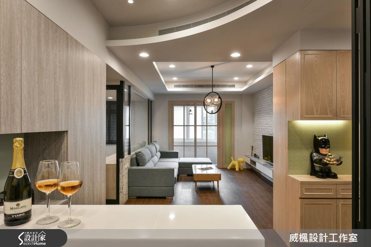 30坪老屋(16~30年)_簡約風餐廳案例圖片_威楓設計工作室_威楓_08之2
