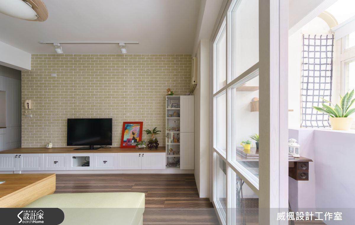 25坪老屋(16~30年)_北歐風客廳案例圖片_威楓設計工作室_威楓_09之3