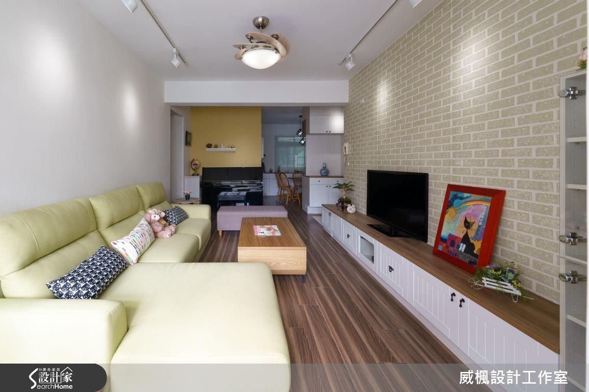 25坪老屋(16~30年)_北歐風客廳案例圖片_威楓設計工作室_威楓_09之4